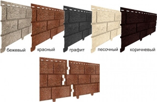 Фасадные панели Ю-Пласт Стоун Хаус