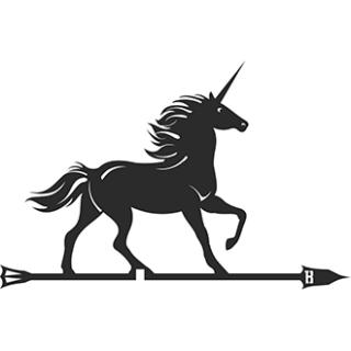 Флюгер «Единорог»