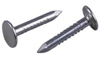 Гвозди ершеные оцинкованные 30х3,5 мм 1 кг