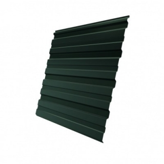 Профнастил C21 Grand Line GreenCoat Pural 0,5 мм RAL 6020