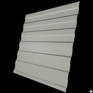 Профнастил МеталлПрофиль C8-1150 0,45 мм RAL 9002