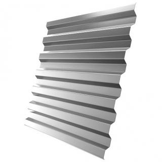 Профнастил МеталлПрофиль C21-1120 0,4 мм Оцинкованный