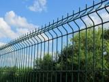 Забор из Евро-Сетки (сварной) с забутовкой столбов