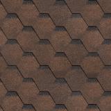 Черепица Технониколь Shinglas Финская Соната коричневая