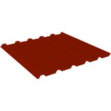 Профнастил МеталлПрофиль НК21-1120 0,45 мм RAL 3011
